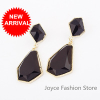 Min Order $10,Charms Fashion Designer Jewelry,Luxury Exaggerated Geometry Stud Earrings,Retro Vintage Accessories