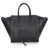 Free shipping 2013 New arrive  original  oxhide Leather  sude inside  woman  Shoulder bags black red