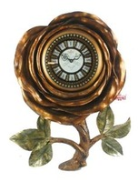 Fashion classical wall clock rose style wall clock art wall clock h070wa
