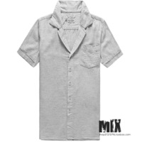 Summer small pocket fluid comfortable breathable short-sleeve shirt male thin shirt s235-8