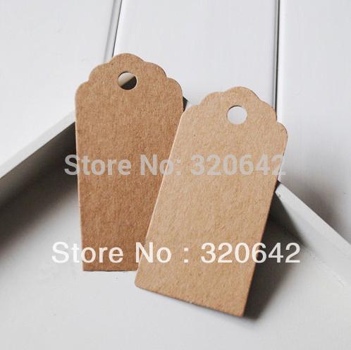 kraft paper hang tags