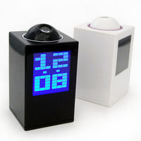 Hot-selling fashion projection clock projection clock alarm clock projection table