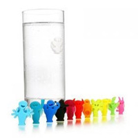 Original vacu vin cupsful label glass cup label personality cup stickers