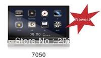 NEW 7'' HD digital touch screen universal car dvd player DE7050 with DVD,radio, ipod, bluetooth, SD, USB, etc