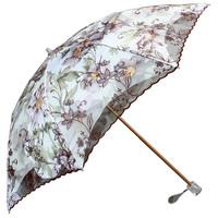 Sun umbrella two fold umbrella sun protection umbrella double layer lace super sun anti-uv 50
