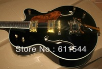 Custom Shop Black Falcon Jazz Guitar with Bigbys Top Musical instruments Free Shipping