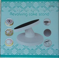 Min Order $20 (mixed order) Fondant tools Cake turntable decorating  rotating cake slip-resistant swivel plate (XP)