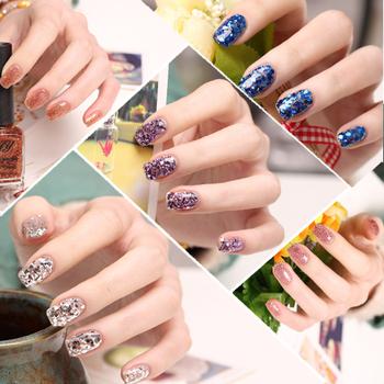 Bling jy sparkling nail polish oil arbitraging 24 paillette jumper