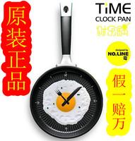Omelette pan wall clock tableware wall clock