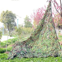 1x2m Outdoor Sports Camouflage Net Camo netting Hunting Military airsoft paintball concealment for hunting blind FREE SHIPPING