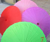 84 diameter solid color dance umbrella imitation silk umbrella dance umbrella umbrella west lake silk umbrella