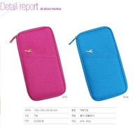Women's multi card holder card holder multifunctional passport bag long design storage bag