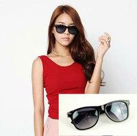 (Min order $10) Star vintage rivet color multi-colored sunglasses 9032 4