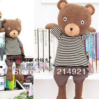 Free shipping high quality low price plush toy export Japan's teddy bear plush bear 55 cm/Brown color -L002