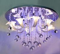 Free shipping Modern fashion Ceiling Crystal Light led lights Simple Living room lights Restaurant lights Bedroom lamp