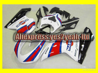 D107 White Red blk Fairing for DUKATI 1098 07 08 848 2007 2008 Dukati 1098 1198 848 07 08 2007 2008