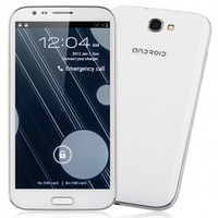 TengDa S7500 Smart Phone Android 4.1 MTK6577 Dual Core 3G GPS 1G 8G 5.8 Inch Capacitive Screen 12.0MP Camera- White, Black