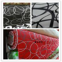 Printed cloth 100% cotton canvas fabric lines pillow cushion sofa diy