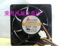 Fans home 9cm fan 12v fan y.s.tech 0.80a yw09232012bs fan
