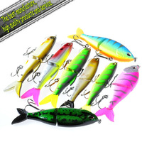 Hard Flexible bait fishing lure 3/size Flexible bait 8/pcs