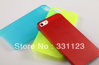 New Crystal Clear Transparent Hard Plastic case cover fit for iphone 5 5G Free shipping  50 PCS/Lot