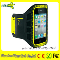 Free Shipping EaseFit colorful Sport Armband for iPhone4s