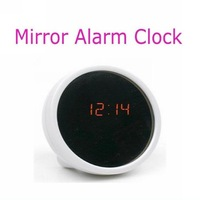 Latest Electronic Alarm Clock Beauty LED Mirror for Makeup Free Shipping 9727