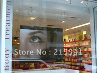 Free shipping  Fashionable high contrast grey Rear projection film for hologram display