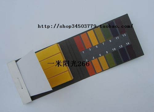 Ph test strips precision test strips 1 - 14 - gardening tools wine ph(China (Mainland))
