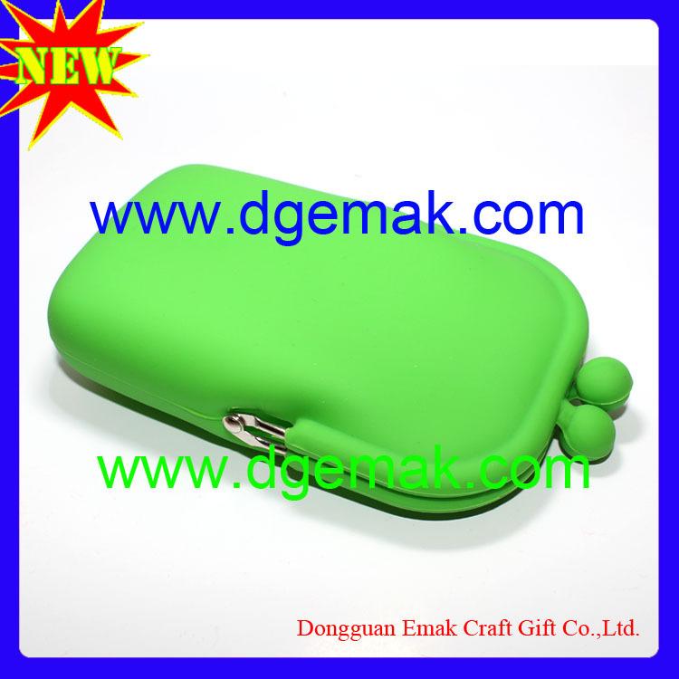 colorful silicone phone purse silicone phone bag(China (Mainland))