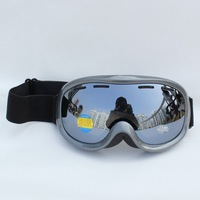 Free Shipping Double Lens Polarized Anti Fog Windproof Ski Goggles Brand UV Protection  Snow Glasses Snowboard Ventilation holes