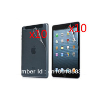 LCD Clear Full Body Front and Back Screen Protector Film Guards For Apple iPad Mini Mini2 2 Mini3 3 Retail Package 10pcs/lot