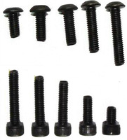 Free shipping Tattoo Machine Sockethead Screw Kit, 100 8-32 Screws