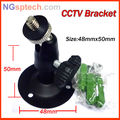 Free shipping cctv accessories Black Wall Mount Stand Bracket for CCTV Security Camera