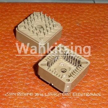 10 PCS PLCC28-DIP IC Socket , PLCC28 DIP Socket adapter , 28 Pin PLCC Converter