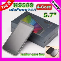 2013 Quad Core Unlocked 5.7inch IPS Star N9589 1GB RAM, 8GBROM 8.0MP 3G GPS mobile phone SG post free shipping