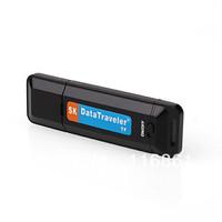 12PCS Free shipping Mini Flash Disk Design Digital Voice Recorder with TF Card Slot