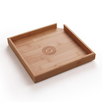 Freeshipping Pamboo PU er tea tray PU er tea tray Large