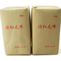 Dian hong tea large congou black tea premium black tea red 250g - maofeng
