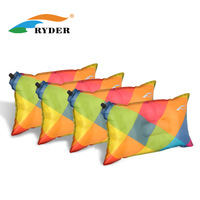 Ryder ryder outdoor camping automatic inflatable pillow lengthen slip-resistant colorful pillow