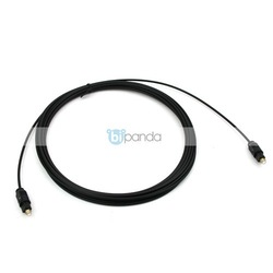 New Digital Audio Optical Fiber Optic Cable 5M Slim G10252(China (Mainland))