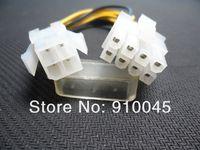 100pcs Mwave PW-P4P8 ATX 12 V CPU Power 4 pin Male to 8 pin