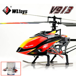 New Wltoys V913 Large Alloy 70cm 2.4G 4CH RC Remote Control Helicopter With Gyro Free shipping & wholesale(China (Mainland))