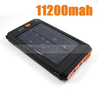 Solar Panel Battery 11200mAh Solar Charger for iPhone iPad Samsung Galaxy S3 S4 Note 2