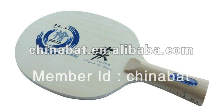 Hot sale SANWEI Hinoki carbon table tennis blade:HC-5(China (Mainland))