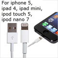 1 Meter 8PIN USB charge and data transfer adapter cable SYNC-CHARGING for iphone 5,ipad 4, ipad mini, ipod touch 5, ipod nano 7