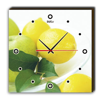 Dago art painting clock fashion picture frame decorative painting wall clock art clock single 246a