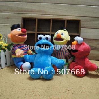 "Free shipping Retail  High Quality Cute Soft  Plush Sesame Street Plush Doll 8"" New"