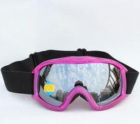 Free Shipping Double Lens Polarized Anti Fog Windproof Ski Goggles UV400 Protection Europe Style  Snow Glasses Snowboard  Women