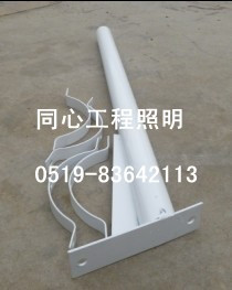 Diameter 60 long 1 meters hot dip zinc street lighting poles full set